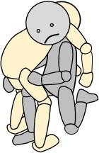 移乗介助 肩で担ぐ
