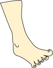 足指じゃんけんパー