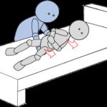 ベッド上移動9(上方移動)