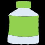 お茶のペットボトル