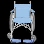 車椅子正面