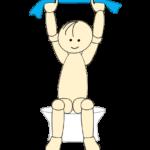 タオルで肩甲骨体操1
