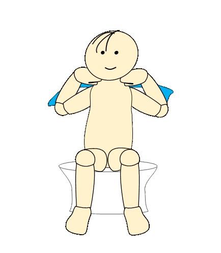 タオルで肩甲骨体操13