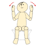 タオルで肩甲骨体操19