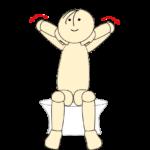 タオルで肩甲骨体操29