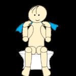 タオルで肩甲骨体操9