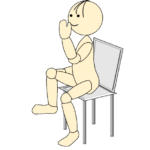 体操座位5
