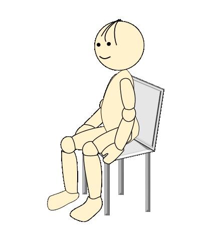 体操座位8