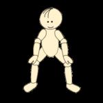 四股で腰痛予防体操1