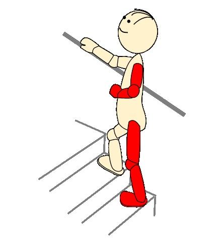 階段1(登り健側)