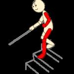 階段4(降り片麻痺患側)