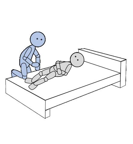 ベッド上移動1