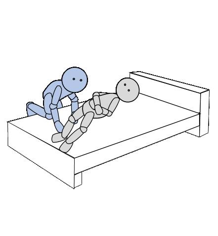 ベッド上移動2