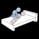 ベッド上移動3(側方移動)