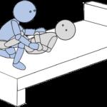 ベッド上移動12(上方移動2)