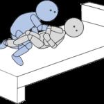 ベッド上移動15(上方移動)