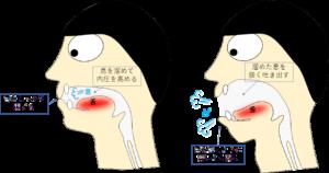 パタカラ1(ぱ)の出し方