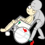 車椅子9(車椅子傾斜3)