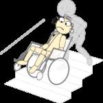 車椅子13(階段昇降1)
